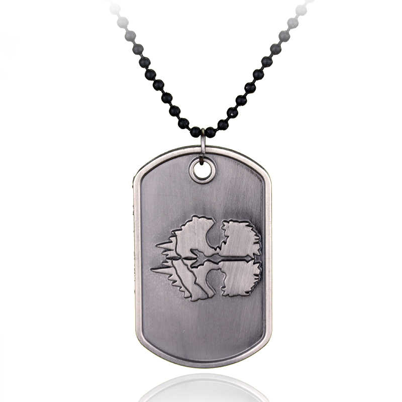Video Game Necklace Cod Ghosts Dog Tag Necklace New Sale For Retail  A10-2-950