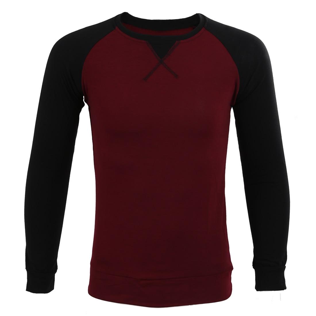 Syb 2016 fashion clothing long sleeve t shirt baseball for Long sweaters and shirts