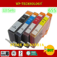 10 Sets Compatible Ink Cartridge Suit For Hp655 Suit For HP 3525 4615 4625 5525