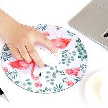 Милый Настольный коврик Papeleria Kawaii, компьютерный коврик для мыши, Настольный коврик, офисный стол, набор аксессуаров, корейские товары, фламинго, цветок