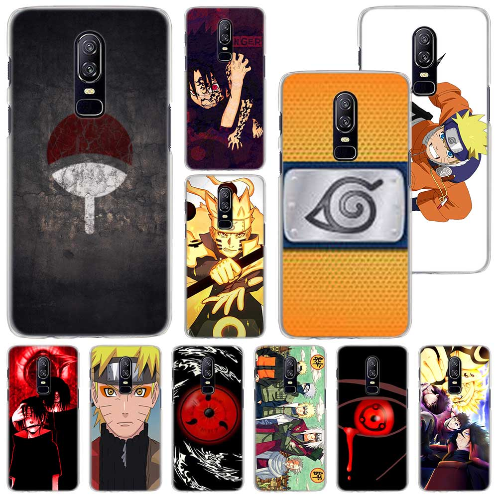 Naruto Sasuke Phone Case for Oneplus 6 6T 5T PC Hard Case Cover for Oneplus 6 6T 5T Mobile Phone Bag Case