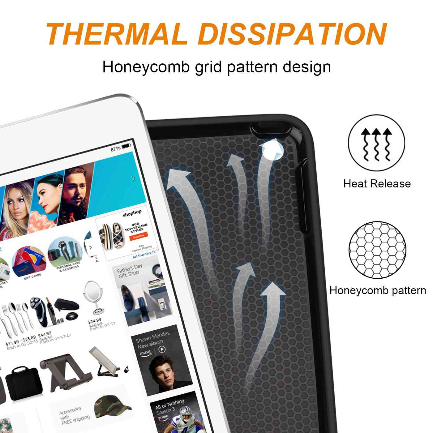 Pencil with 7 for Smart Apple 2019 PU Case 7th Holder 10.2 iPad For iPad Cover Leather