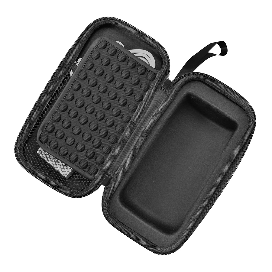 Купить с кэшбэком New PU EVA Travel Protective Case For Bose Soundlink Revolve Bluetooth Speaker Carry Pouch Bag Cover Extra Space For Plug&Cable