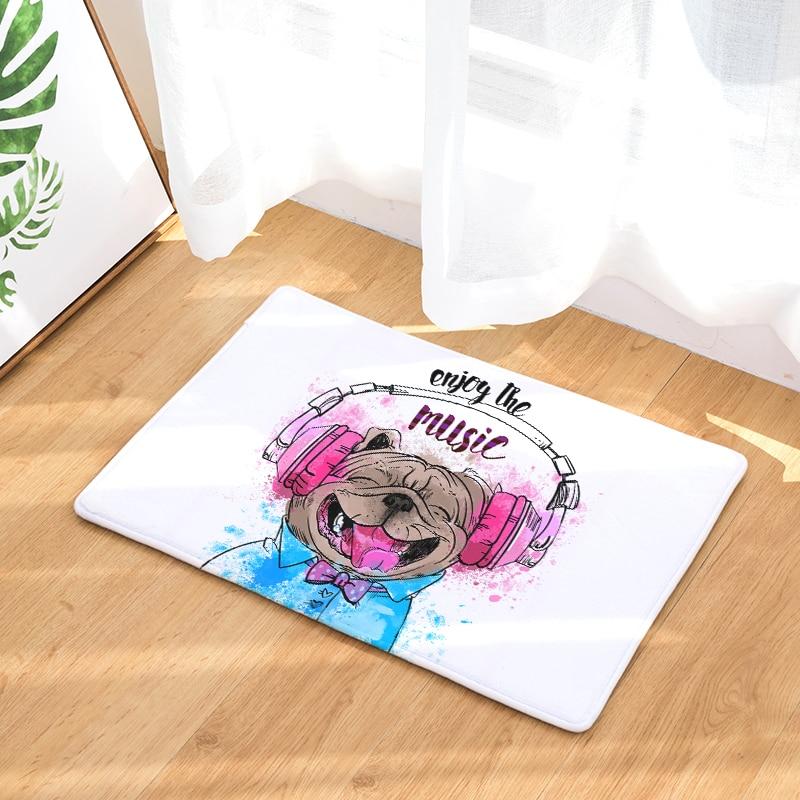 Cartoon Animals Mats Anti-Slip Doormat Cartoon Carpets Decorative Stair Mats Home Decor Crafts Bedroom Rugs