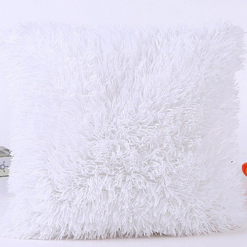 Weiche Plüsch Faux Pelz Großhandel Dekorative Kissen Kissen Werfen Kissen Für Sofa Auto Stuhl Hotel Home Dekoration 7A0193