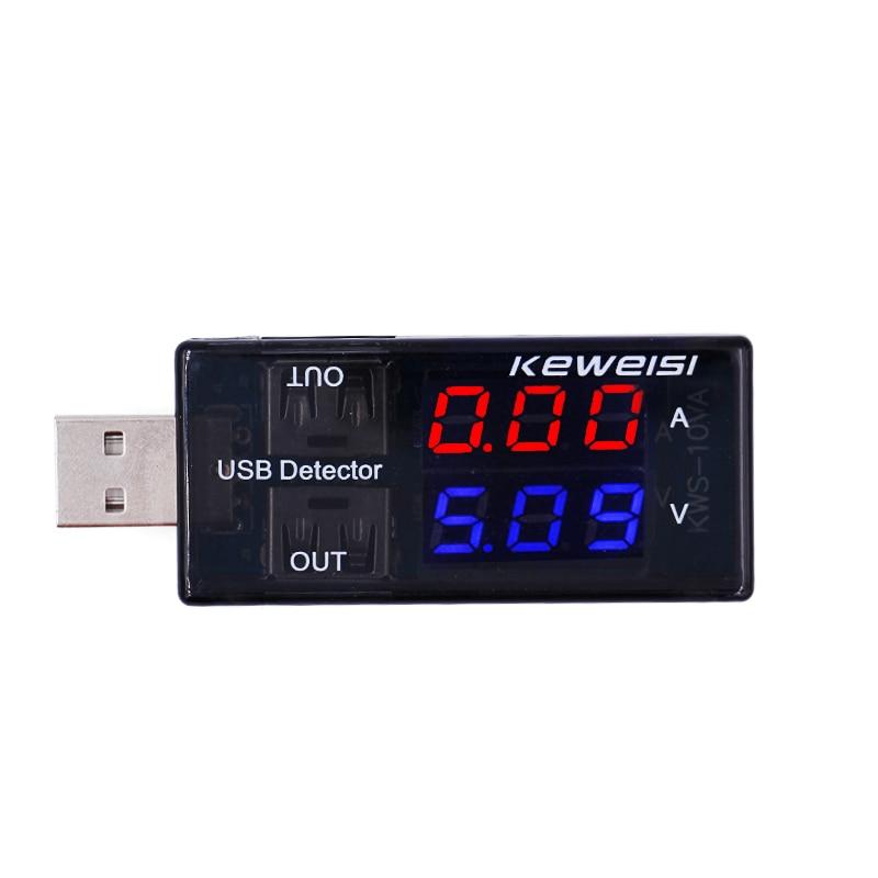 USB áramfeszültségmérő mérőóra USB feszültségmérő - Mérőműszerek - Fénykép 1