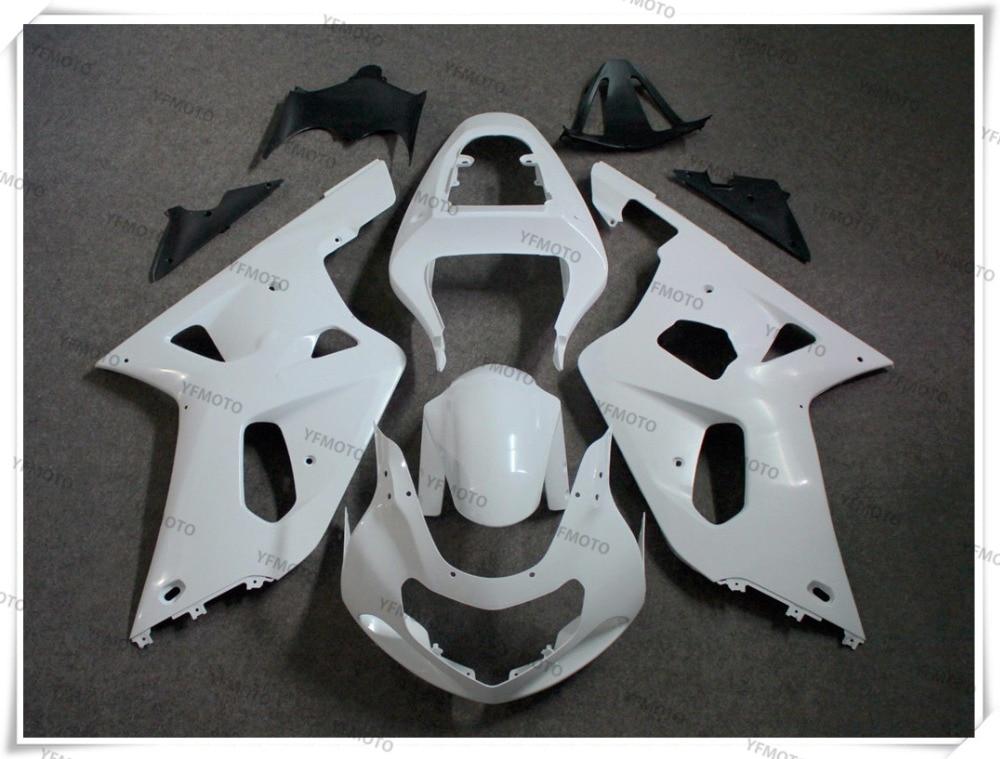 Motorcycle Unpainted Fairing Body Work Cowling For S U Z U K I GSX-R600 GSXR600 2001-2003 GSX-R750 GSXR750 K1 2000-2003+4 Gift