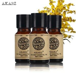 Eucalyptus Osmanthus Honeysuckle essential oil sets AKARZ Famous brand For Aromatherapy Massage Spa Bath skin face care 10ml*3