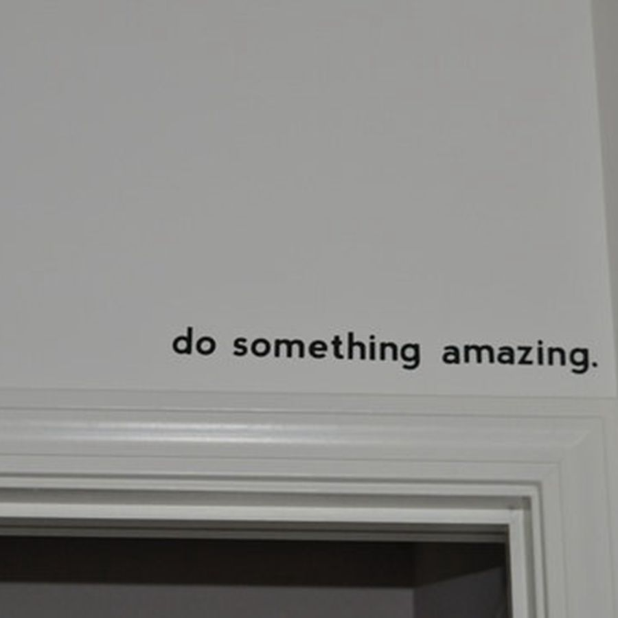 Free Shipping Inspirational Quote Decal Do Something