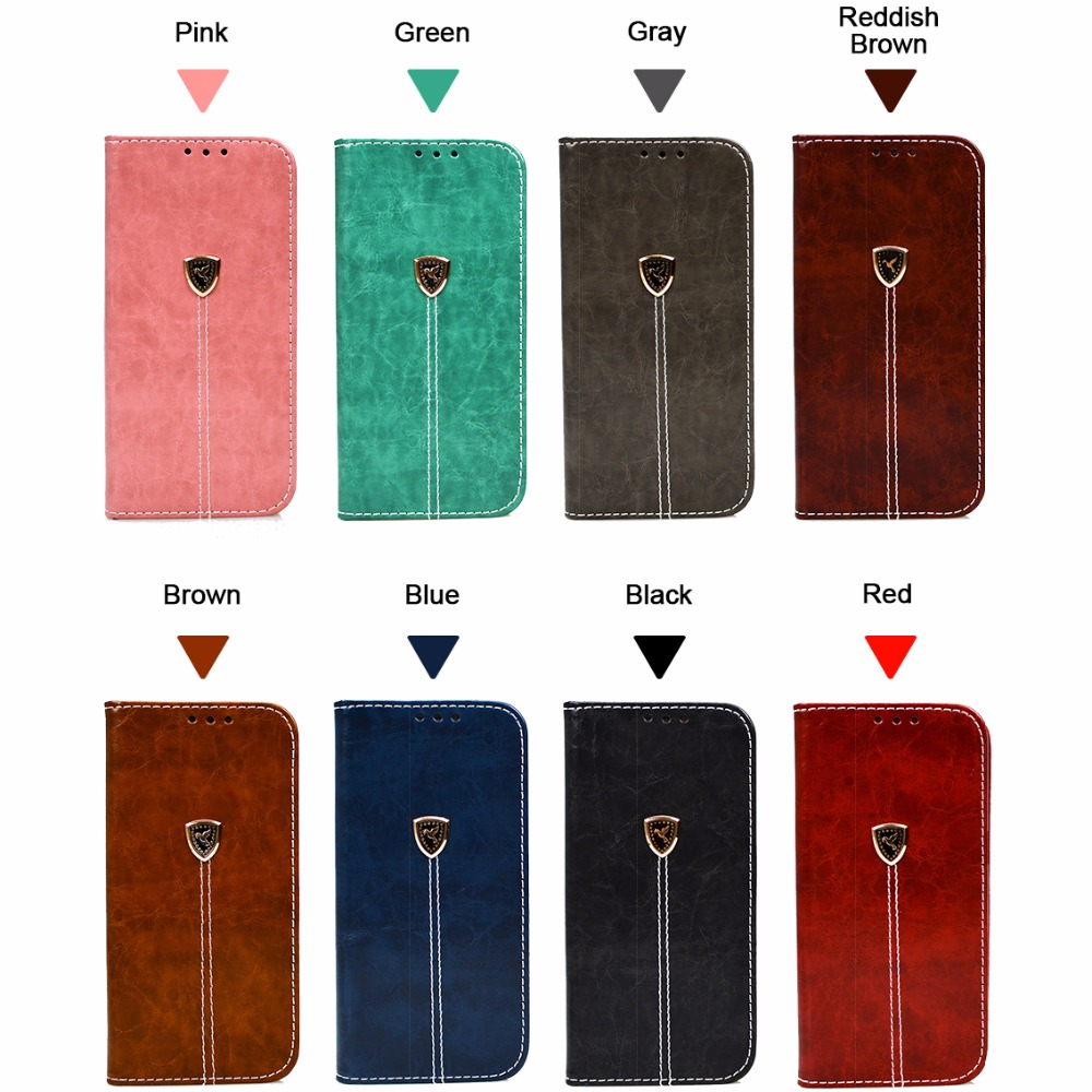 Leather Case For Huawei P8 P9 P10 Lite 2017 Mate 9 Luxury Vintage ...
