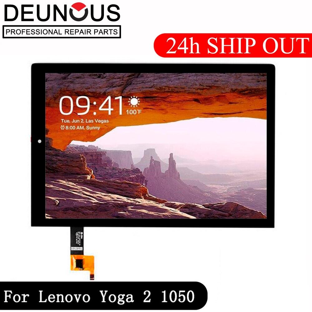 Nouveau 10.1 ''pouces pour Lenovo Yoga tablette 2 1050 1050F 1050L LCD moniteur + numériseur écran tactile panneau de remplacement cadre