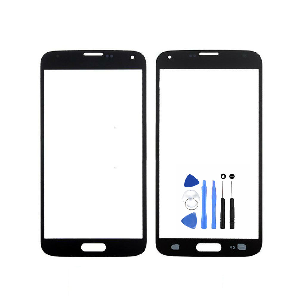 Vannego Free Shipping Front Outer Glass Lens Screen Replacement for Samsung Galaxy S5 Mini with Tools