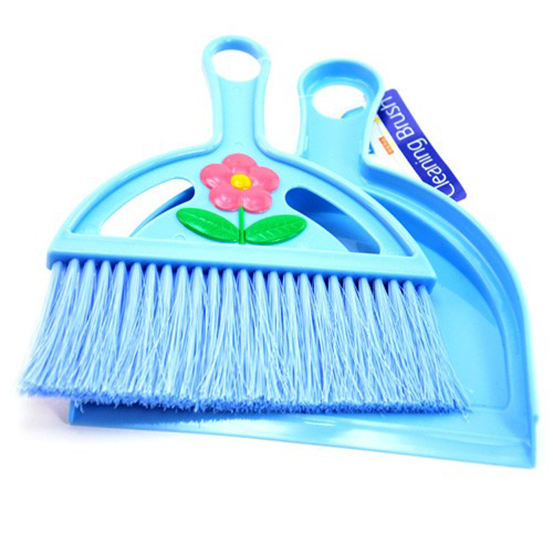 050 Mode Produkt Mini Nachtwäsche Desktop Sweep Kleine Besen Kehrschaufel Pet Reinigung Pinsel Reinigung Acessorios Werkzeug 22*18 Cm Hoher Standard In QualitäT Und Hygiene