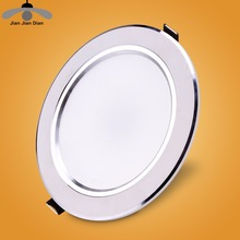 Ultra Thin Led Panel Recessed Round Down Light