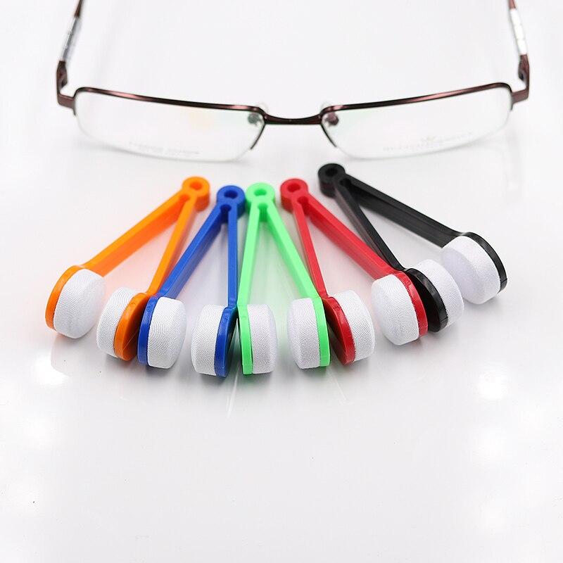 COLOUR_MAX Glasses Microfiber Cleaner Brush Wiper Eyeglass Sunglasses