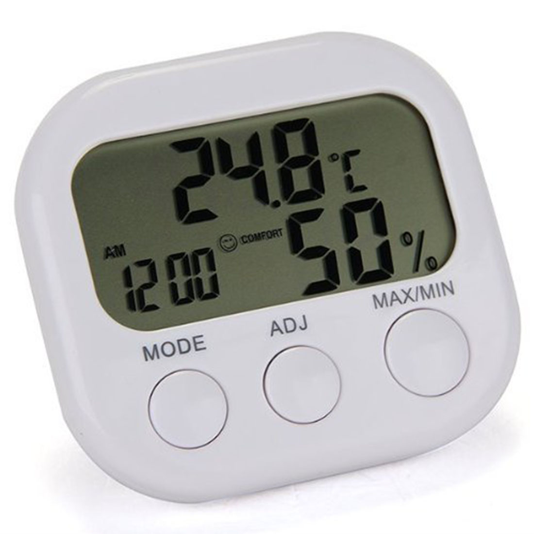 Mini Digital Thermometer Hygrometer Indoor LCD Display Thermo Hygrometers With Stand
