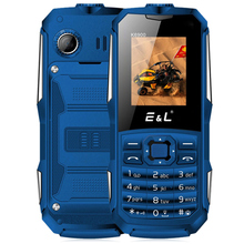 Получить скидку El k6900 Quad Band разблокировать телефон 1.77 дюймов IP68 Водонепроницаемый фонарик Функция 2000 мАч Батарея 0.3mp сзади Камера мобильного телефона