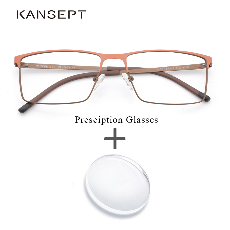 Metal <font><b>Prescription</b></font> Eyeglasses Optical Bifocal <font><b>Progressive</b></font> Photochromic Anti Blue Clear Lens <font><b>Prescription</b></font> <font><b>Glasses</b></font> For <font><b>Men</b></font> image