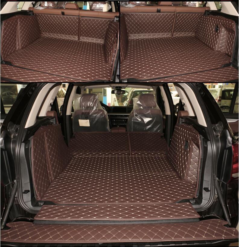 Full Rear Trunk Tray Liner Cargo Mat Floor Protector foot ...