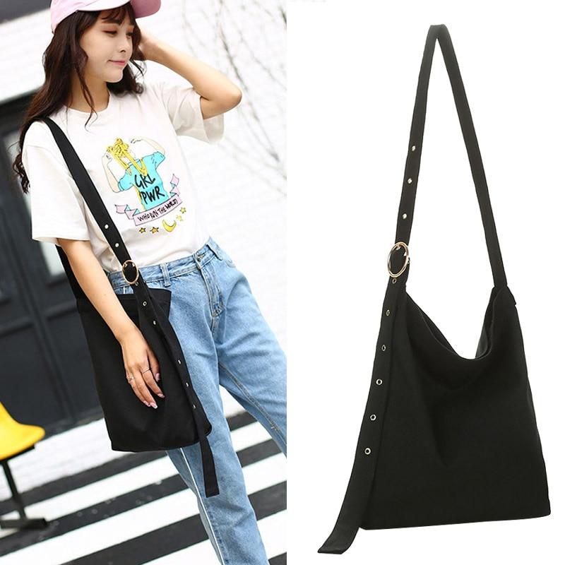 Women Lady Girl Shoulder Crossbody Bag Canvas For Mobile Phone Shopping Money New