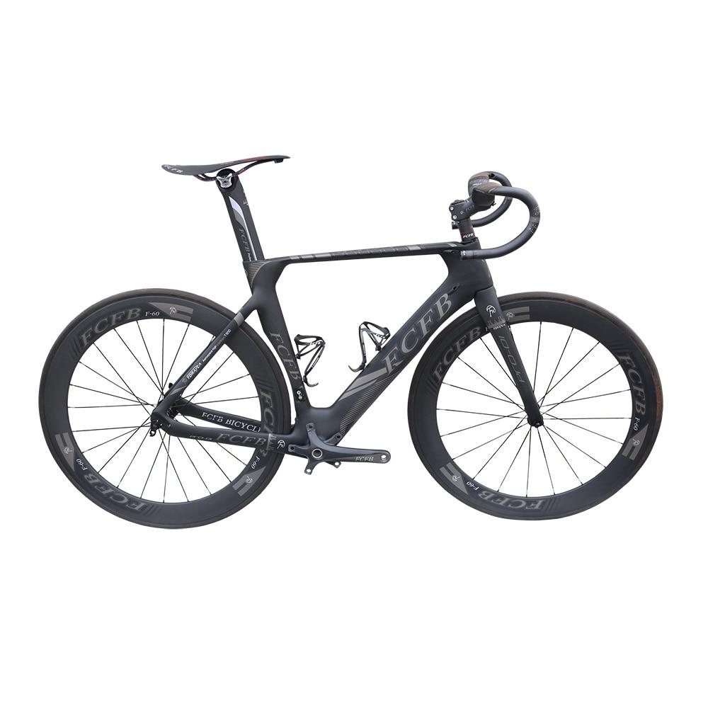 2017 NEW FCFB carbon road bike Pro01 carbon road frame 47/49/51cm 3K matt BB92 bicicleta road bike frame with carbon wheelest 50