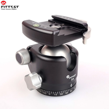 Tripod-Head Ballhead Lever-Release-Clamp Rrs-Plate FITTEST Low-Profile Fast-Locking