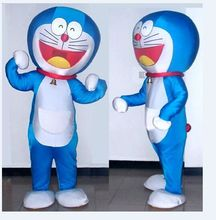 EMS fast Shipping Cartoon Doraemon Mascot Cute Japanese Animation Doraemon Costumes