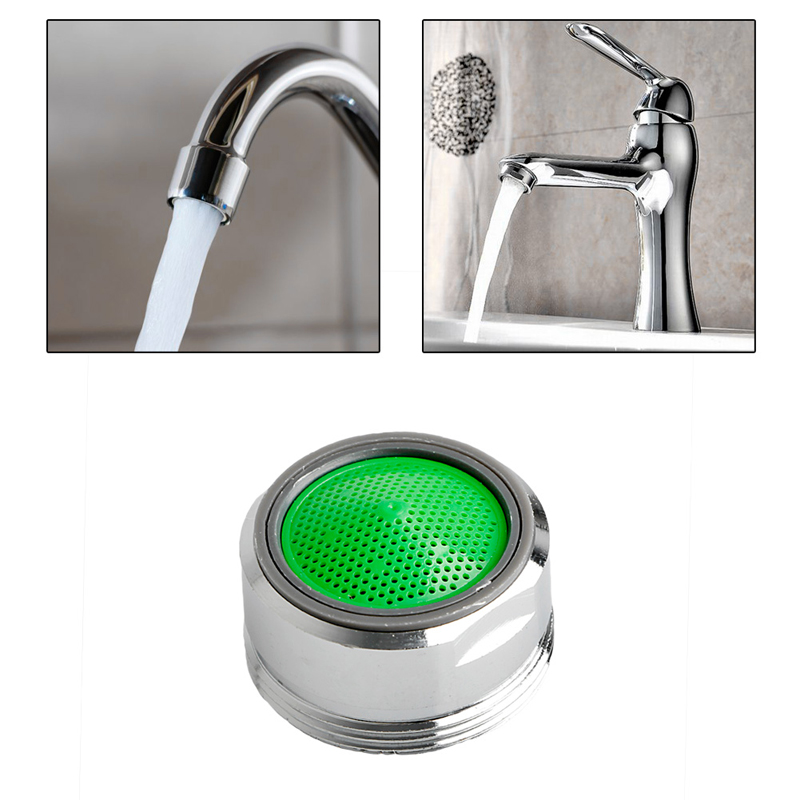 Water Saving Rotate Swivel Faucet Nozzle Water Filter Adapter Water ...