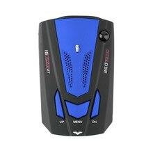 Coche V7 360 Grados Detección Alerta de Voz Detector Del Radar Del Coche detector anti Inglés de Voz para el Coche de Velocidad Limitada venta caliente