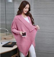 2017 Autumn Winter Fashion Maternity Cardigans Long Sleeve Warm Pregnancy Coats New Slim Maternity Sweaters SZ6906