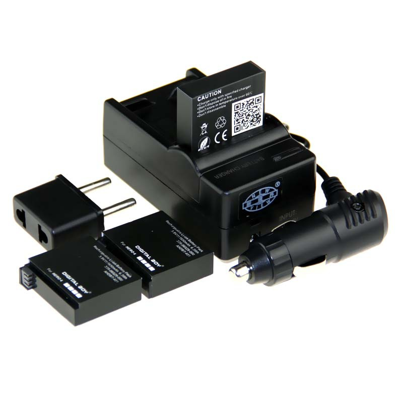 3.8 В 1650 мАч аккумулятор Go Pro AHDBT-401 AHDBT 401 + + автомобильное зарядное устройство + свеча <font><b>GoPro</b></font> герой <font><b>4</b></font>
