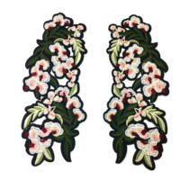 Embroidered Flower Phoenix Patch Applique Embroidery Patches For Dress Parches Bordados Ropa Sewing Accessories DIY AC0935