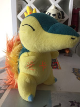 New Cyndaquil Kawaii Baby Toys Stuffed Plush Plushie Doll 18cm Kids Gift Collection Anime Brinquedos Juguetes