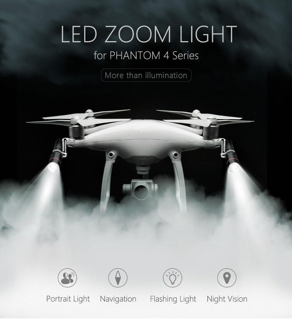 PGYTECH Zoom LED Light  For DJI  Phantom 4 Series