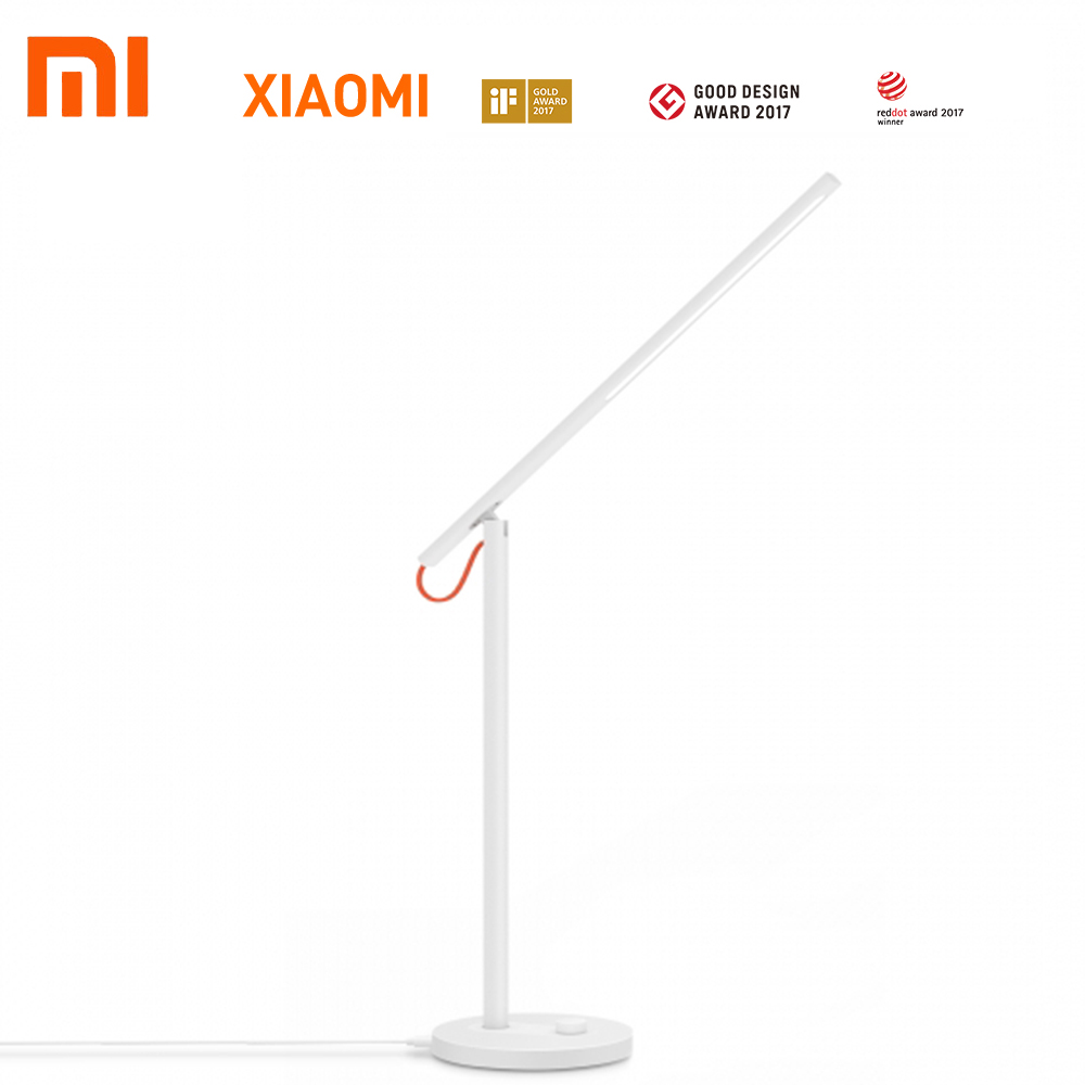 Original Xiaomi Mijia Smart LED Desk Lamp 2700K-6500K Table Lamps Support Smart Phone App Control With KC IEC BSMI SRRC 85w high bay lamps 60w 135w 165w 185w 2700k 6500k 85ra 75lm w