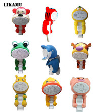 Free shipping Children Show Heads Cartoon Shower Kid shower Bathroom Hand Shower Animal Bionics Shower
