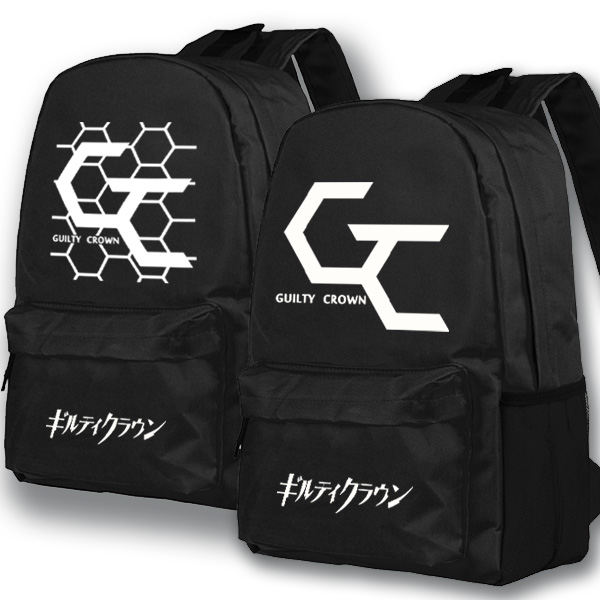 Anime Guilty Crown Cosplay backpack Anime High School Student Bag Girls Shoulder Bag Backpacker anime fairy tail cosplay anime shoulder bag male female student travel leisure large capacity backpacker birthday gift