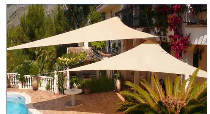 Aliexpresscom Buy Polyester Waterproof Sun Shade Sail Canopy