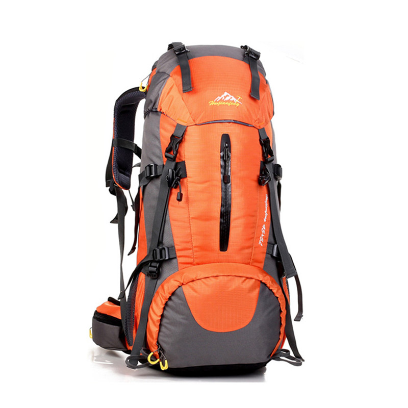 ФОТО Outdoor Climbing Bag Capacity 45+5 L designed for long-distance hiking backpacker travel camping soft feel Sports Bags