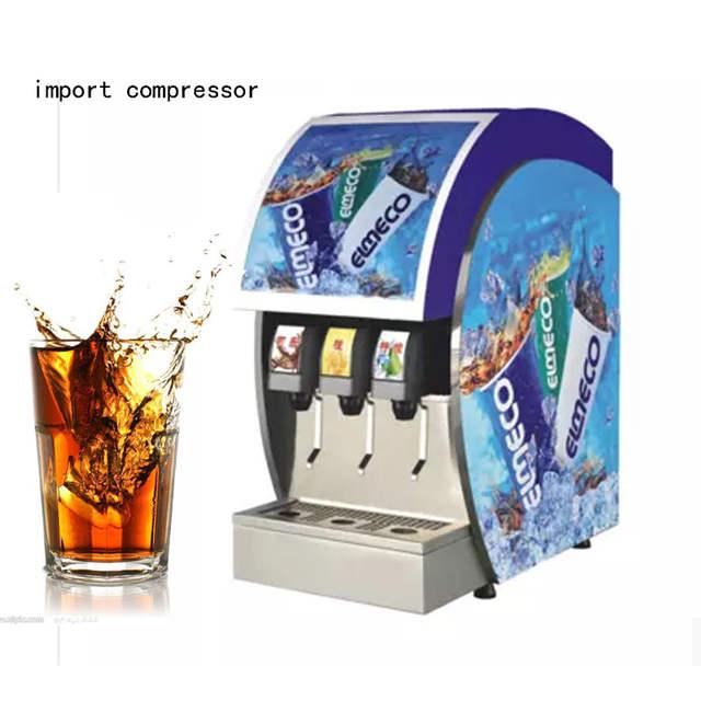 US $1630.0 |3 Flavour import compressor cola making machine frozen on