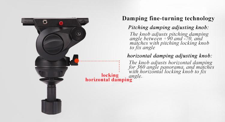 15 DSLR robuste caméscope/support 18