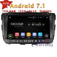 Wanusual 8 дюймов 4 ядра 16 г 2 г Оперативная память Android 7.1 Автомобильный Мультимедийный Плеер Радио стерео для Kia Sorento 2013 с GPS BT WI FI 3G Географические