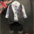 Toddler Boy Clothes Handsome Kids Boys Blazer Gentleman Boys Suit Spring Vetement Enfant Brand Toddler Boy Clothes