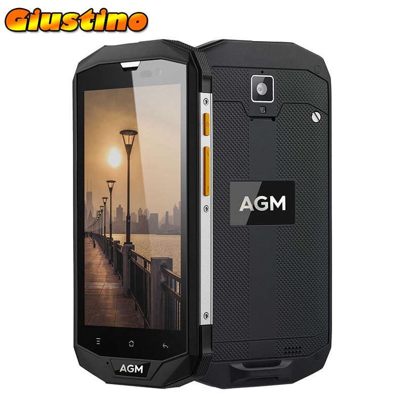 "Original AGM A8 SE IP68 Waterproof 4G smartphone 2GB+16GB QUALCOMM MSM8916 5.0""HD 8MP Water Dust Shock Proof Mobile Phone"