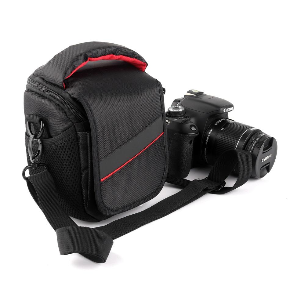 Camera Case Bag For Canon Fujifilm Panasonic Olympus Samsung Nikon Sony RX100 A6300 A6000 A5100 A5000 NEX5C 5R 5N 5T NEX-6 NEX7
