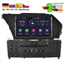 HIRIOT CAR DVD GPS Android 9.0 IPS for Mercedes Benz GLK X204 300 350 4GB RAM+32GB FLASH Octa Core+OBD/4G/Wifi /DVR/BT