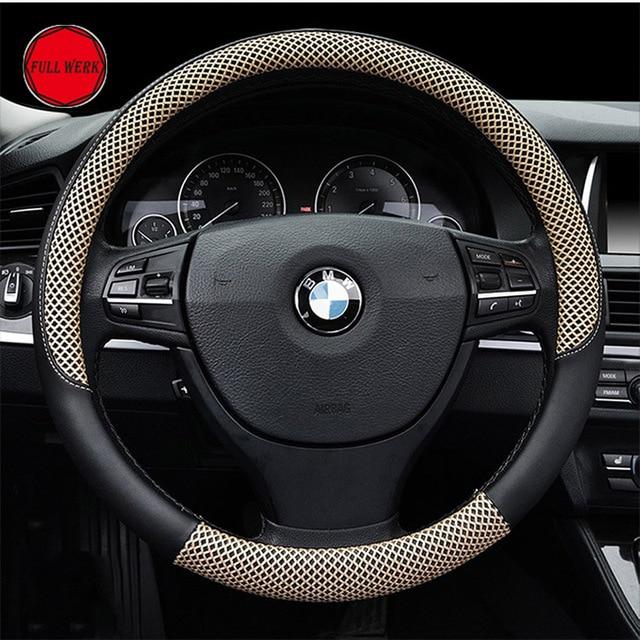 1 pc anti slip steering cover fit 38cm 15 inch steering wheel