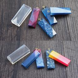JAVRICK прозрачный жидкий силиконовая форма DIY Смола ювелирные изделия кулон ожерелье пресс-формы