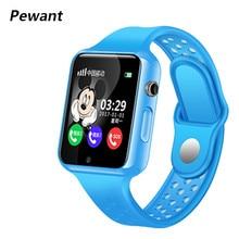 G98 gps Bluetooth дети Смарт часы с Камера шагомер Водонепроницаемый наручные SOS анти-потерянный Сенсорный экран pk Q50 Q90 df25 df27