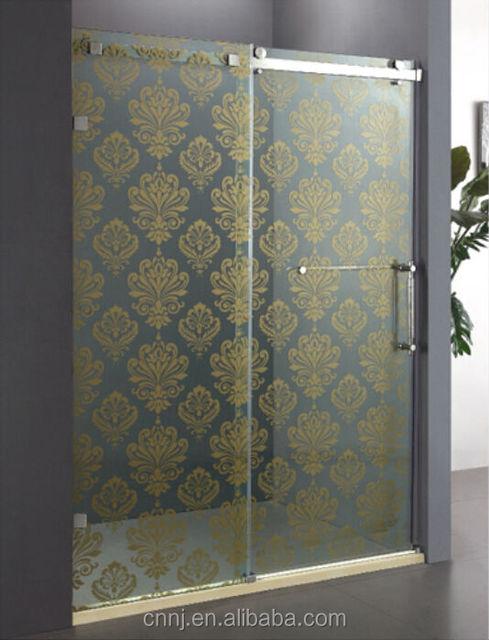 Explosion Proof Glass Shower Door Partition Door Shower Partition